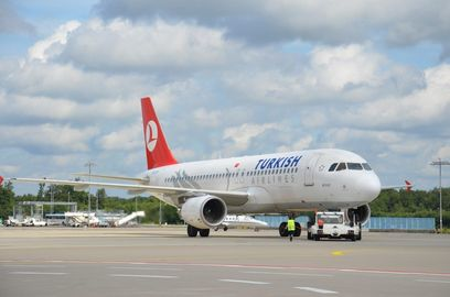 Turkish Airlines am Köln Bonn Airport