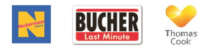 Logo Neckermann / Bucher Last-Minute